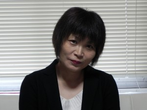 Mitsue Kawamura suffers from malignant mesothelioma, almost always caused by asbestos exposure