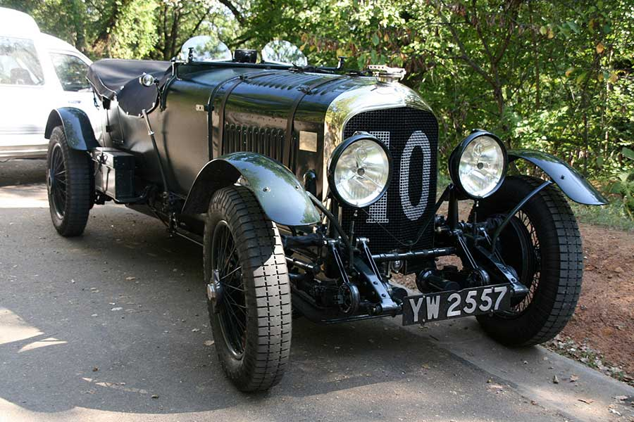 A Bentley car similar to the one the Joys fought over in court