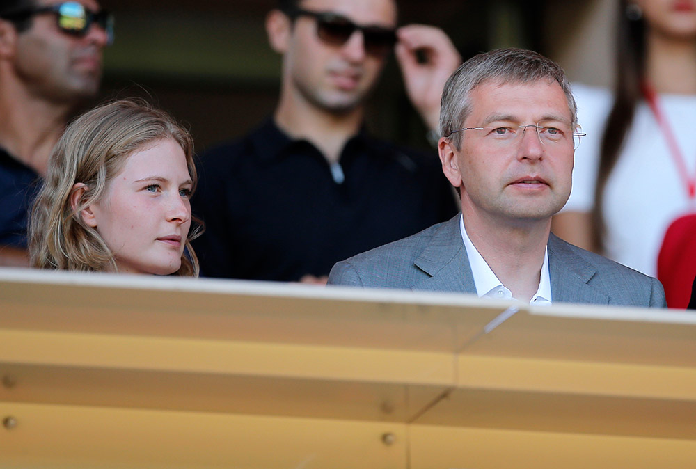 Russian billionaire President Dmitri Rybolovlev and his daughter Ekaterina Rybolovleva