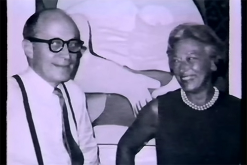 Victor and Sally Ganz