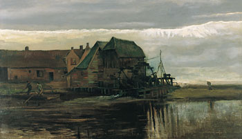 Vincent Van Gogh's Water Mill at Gennep