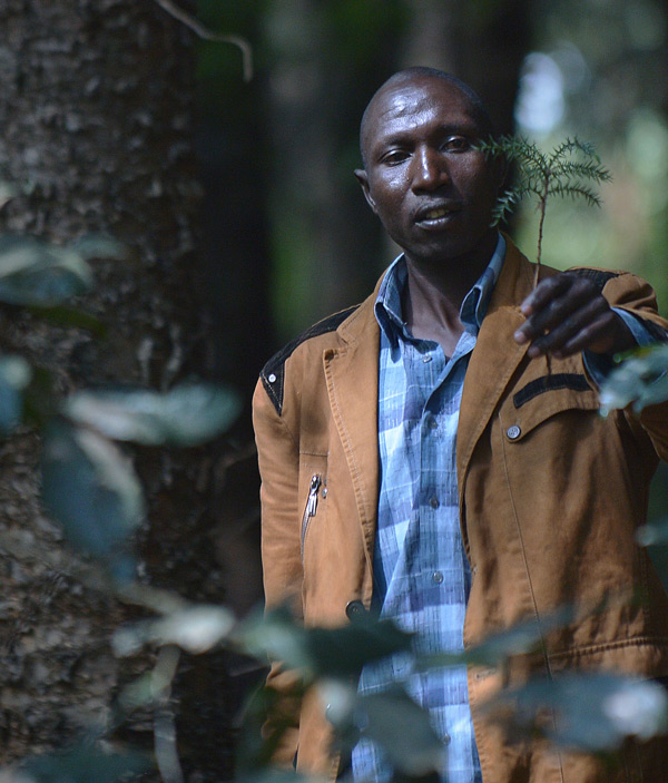 Elias Kimaiyo says the Kenya Forest Service has burned down his home repeatedly as part of a push to evict him and other members of the Sengwer, an indigenous tribe, from the forests where they have lived for generations