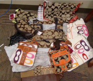 In October 2008, federal agents seized more than 10,000 counterfeit items at a Los Angeles wholesaler's home