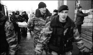 In 2006, after criticizing police in Kaliningrad, local newspaper Novye Kolesa was raided and its newspapers confiscated